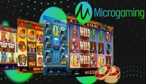 Microgaming онлайн ротативки 'Six Acrobats', 'Sugar Parade' и 'Castle Builder II'.